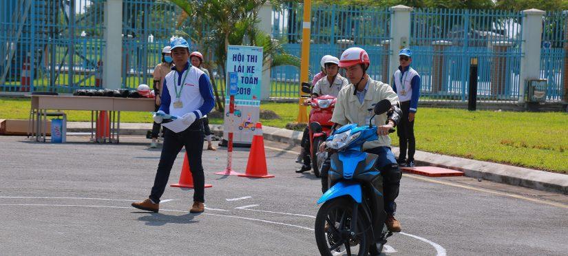 đăng ký thi bằng lái xe máy