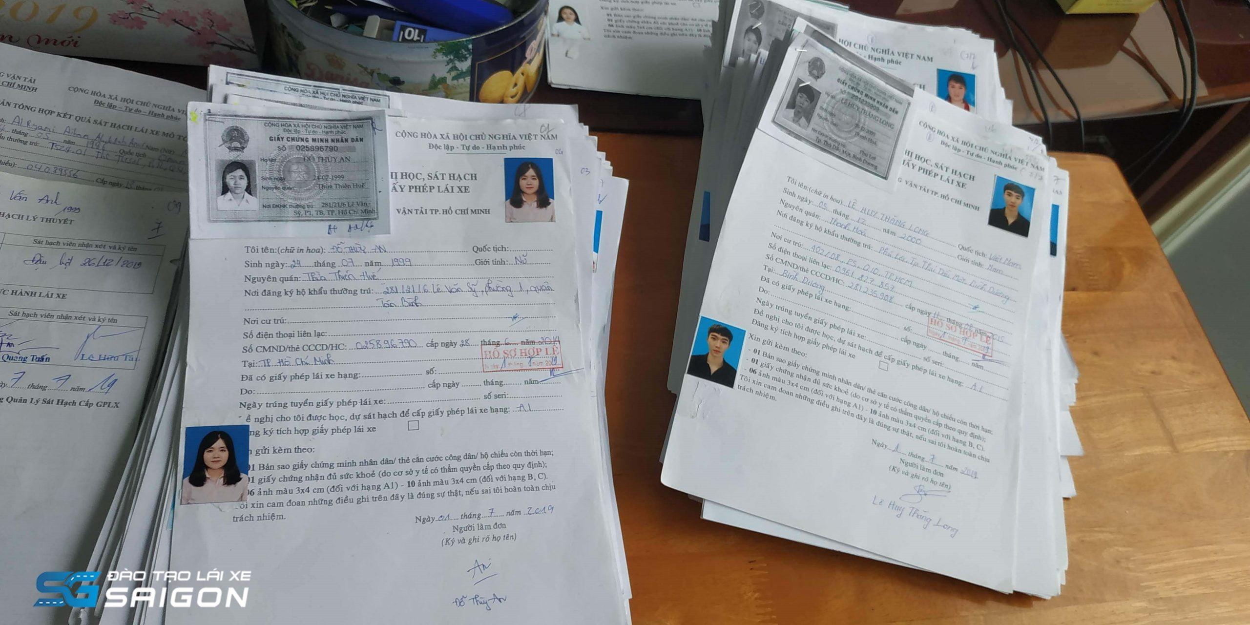Các giấy tờ bạn cần chuẩn bị khi thi bằng A2