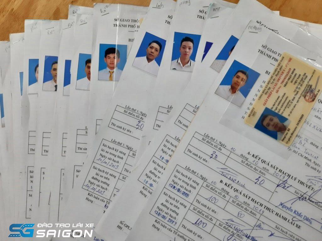 Hồ sơ đầy đủ để đăng kí học bằng lái xe ô tô hạng C
