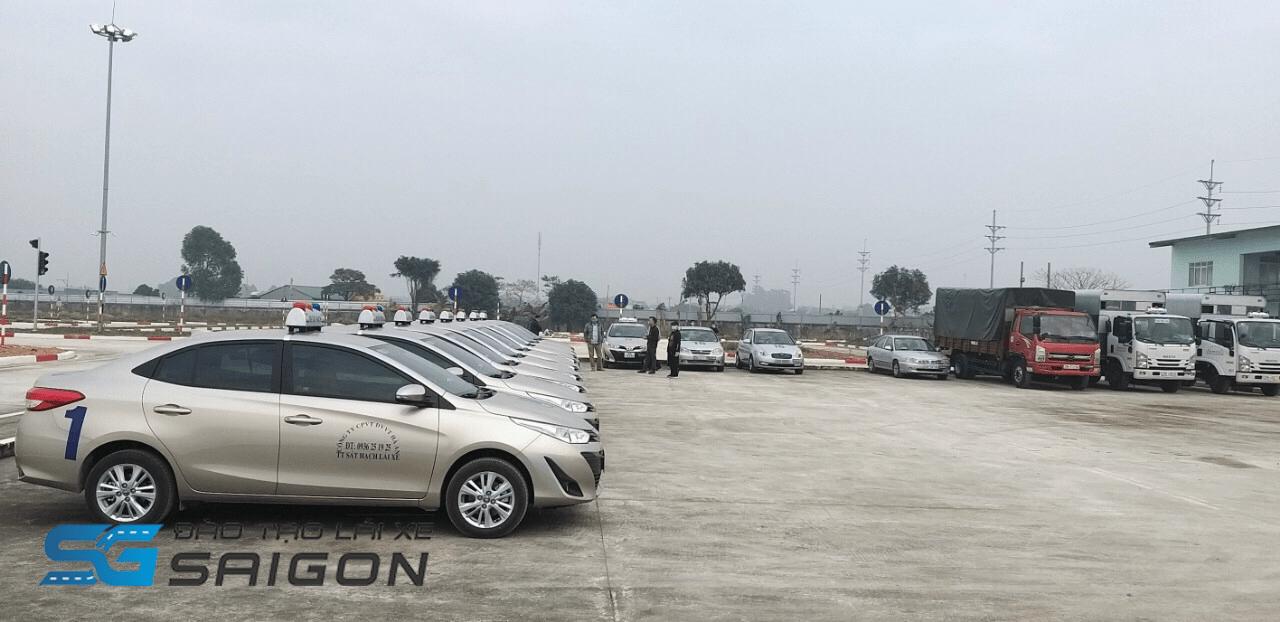 Sân tập Học lái xe B2 rẻ nhất ở Hà Nội